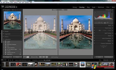 스크린 샷 Adobe Photoshop Lightroom Windows XP