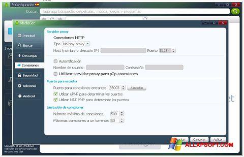 스크린 샷 MediaGet Windows XP