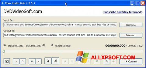 스크린 샷 Free Audio Dub Windows XP
