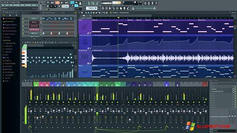 스크린 샷 FL Studio Windows XP