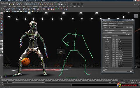 스크린 샷 Autodesk Maya Windows XP