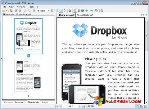 스크린 샷 STDU Viewer Windows XP