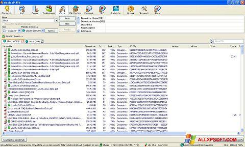 스크린 샷 eMule Windows XP