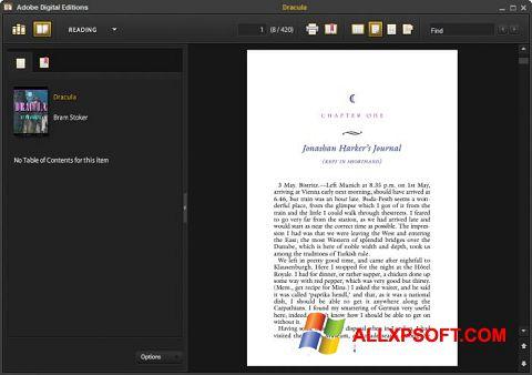 스크린 샷 Adobe Digital Editions Windows XP
