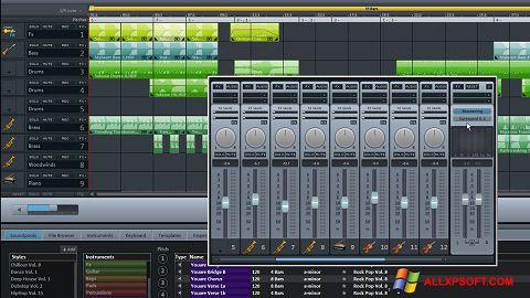 스크린 샷 MAGIX Music Maker Windows XP