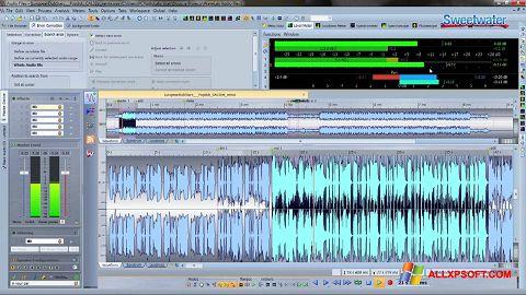 스크린 샷 WaveLab Windows XP